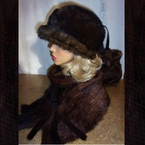 Accessories - NEW! Faux Fur Hat and Scarf Set